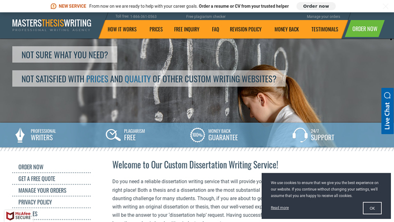 MastersThesisWriting.com review