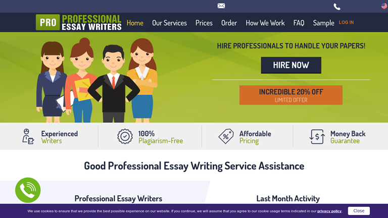 ProfessionalEssayWriters.com review
