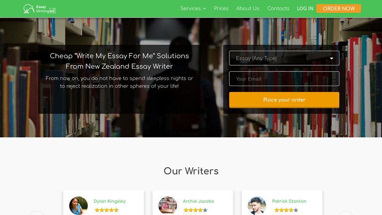 EssayWritingnz.com review