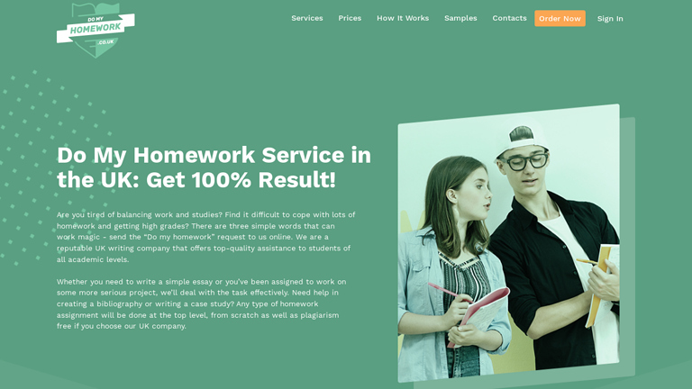 DoMyHomework.co.uk review