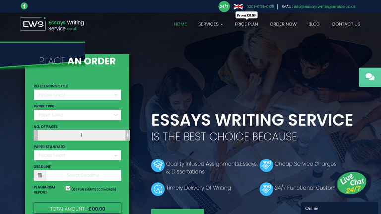 EssaysWritingService.co.uk review